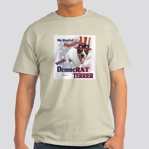 DemocRAT TERRIER Light T-Shirt