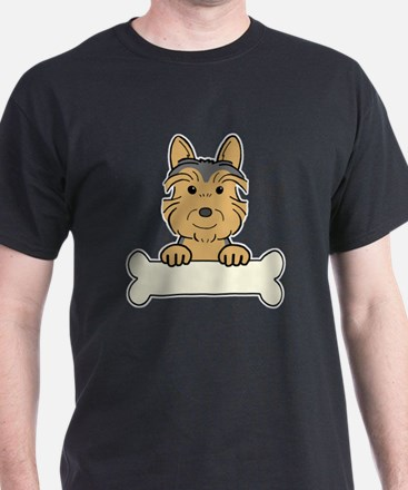 Unique Australian terrier art T-Shirt