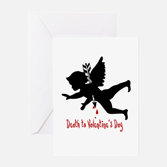 Death to Valentines Day Greeting Cards (Package of