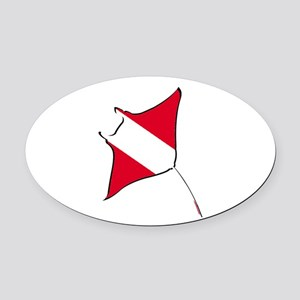 SUCH SIGHTS Oval Car Magnet
