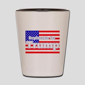 Deplorable for Trump Shot Glass