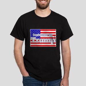 Deplorable for Trump Dark T-Shirt