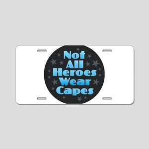 Hereos Capes Aluminum License Plate