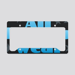 Hereos Capes License Plate Holder