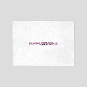 Deplorable 5'x7'Area Rug