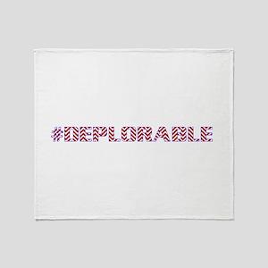 Deplorable Throw Blanket