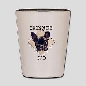 Frenchie Dad Shot Glass