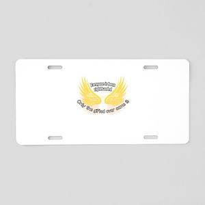 Left-handed Aluminum License Plate