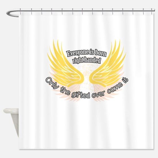 Left-handed Shower Curtain