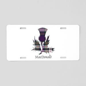 Thistle-MacDonald dress Aluminum License Plate