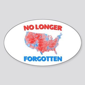No Longer Forgotten Sticker (Oval)