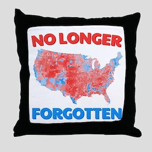 No Longer Forgotten Throw Pillow