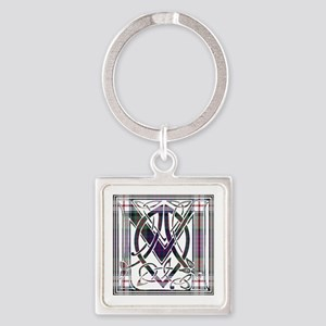 Monogram-MacDonald dress Square Keychain