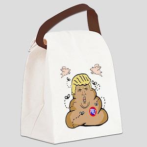Prez Trump Canvas Lunch Bag