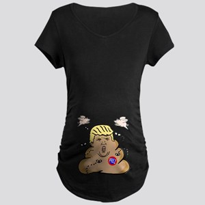 Prez Trump Maternity Dark T-Shirt