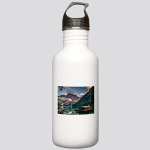 Italian Mountains Lake Stainless Water Bottle 1.0L