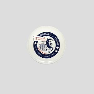 Trump 45th President Mini Button
