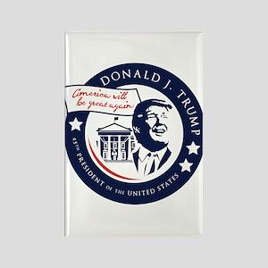 Trump 45th President Rectangle Magnet