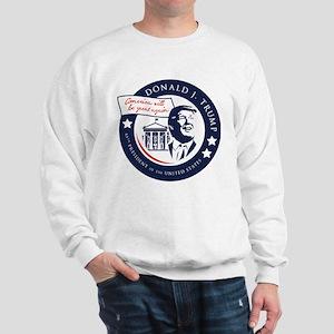Trump 45th President Sweatshirt