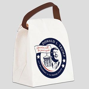Trump 45th President Canvas Lunch Bag