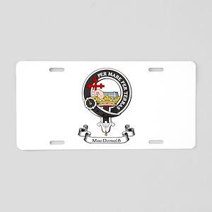 Badge - MacDonald Aluminum License Plate