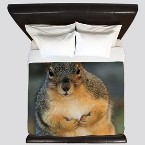squirrel King Duvet