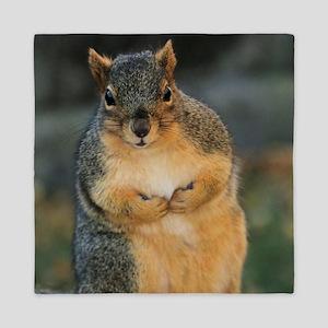 squirrel Queen Duvet