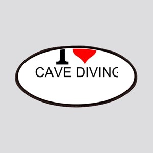 I Love Cave Diving Patch