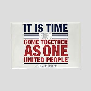 Trump United People Rectangle Magnet