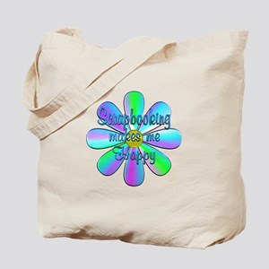 Scrapbooking Happy Tote Bag