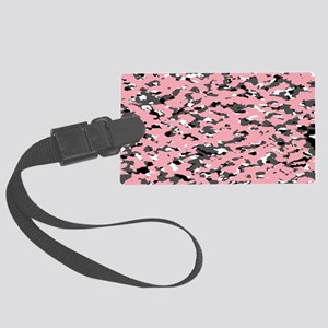 Camouflage: Pink II Large Luggage Tag
