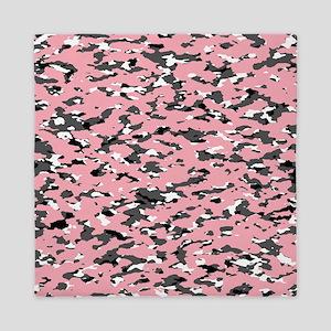 Camouflage: Pink II Queen Duvet