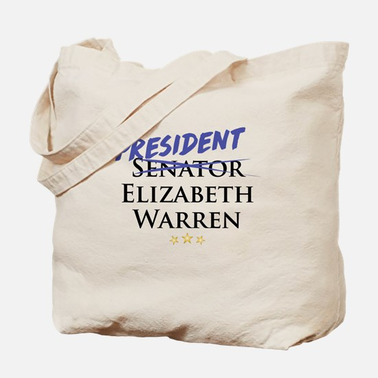 Cute Warren president Tote Bag
