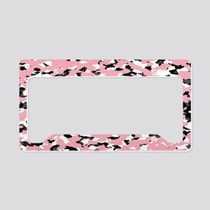 Camouflage: Pink III License Plate Holder