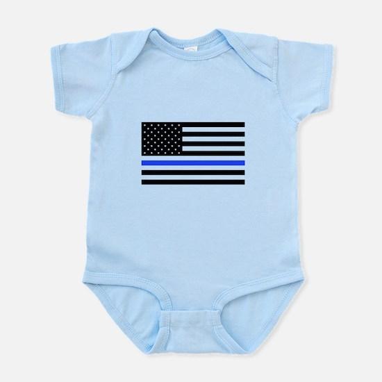 Flag Thin Blue Line Body Suit