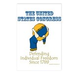 Congress Defending Freedom Postcards (Package of 8
