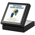 Congress Defending Freedom Keepsake Box