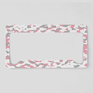 Camouflage: Pink IV License Plate Holder