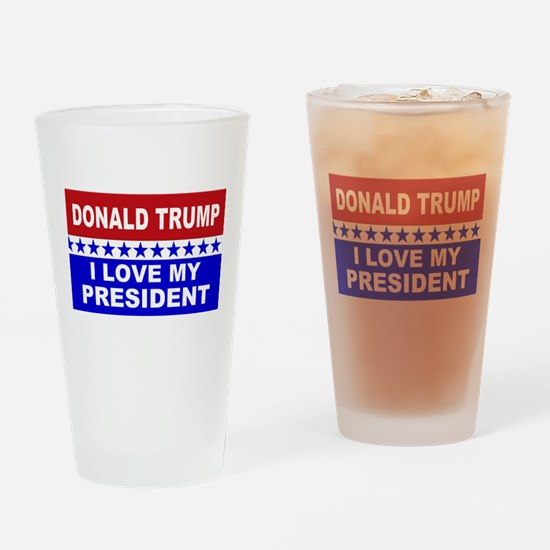 Funny Gop Drinking Glass