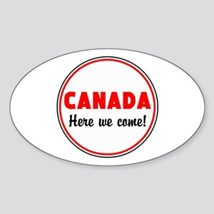 Canada, here we come Sticker