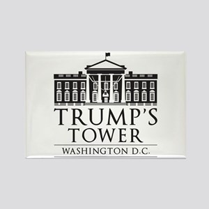 Trump's Tower Rectangle Magnet