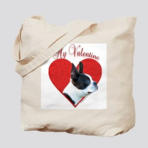 Boston Valentine Tote Bag
