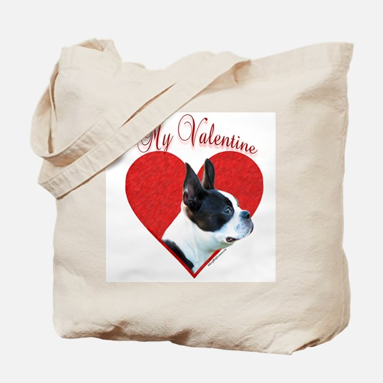 Boston Valentine Tote Bag