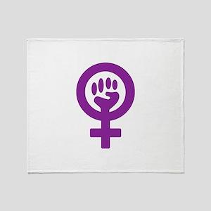 femifist300 Throw Blanket