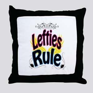 Lefties Rule Throw Pillow