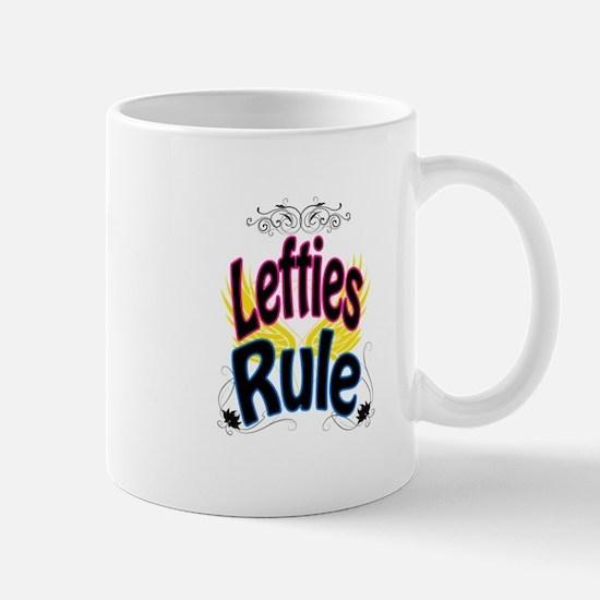 Lefties Rule Mugs