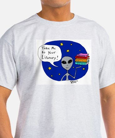 Take Me To Your Library T-Shirt
