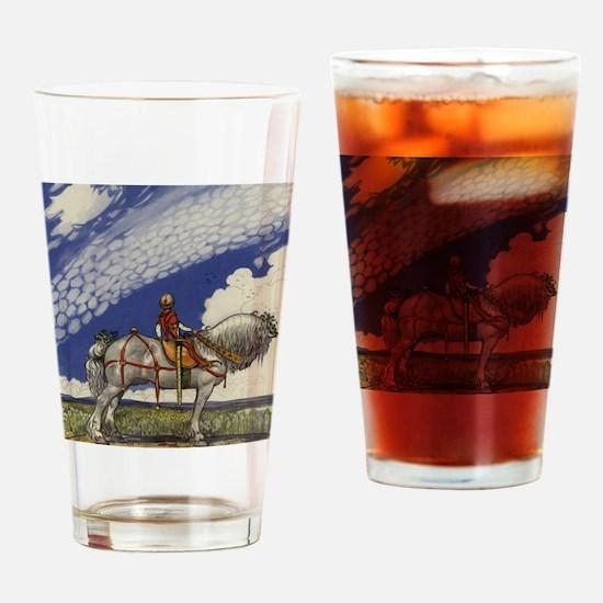 Cute Tomte Drinking Glass