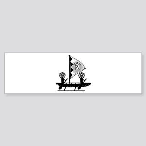 THE VOYAGE Bumper Sticker