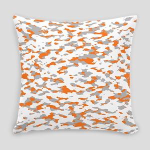 Camouflage: Orange III Everyday Pillow